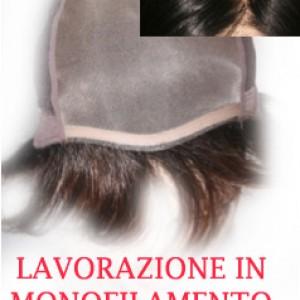 Parrucca in monofilamento