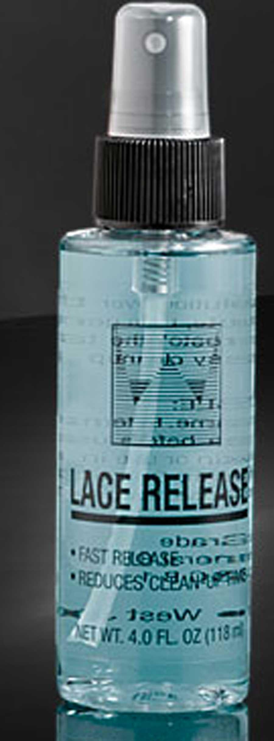 remover per lace, lace release