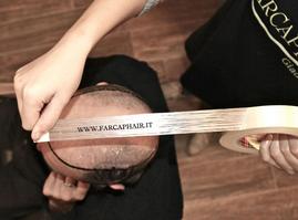calco protesi capello
