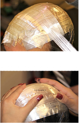 calco per protesi di capelli